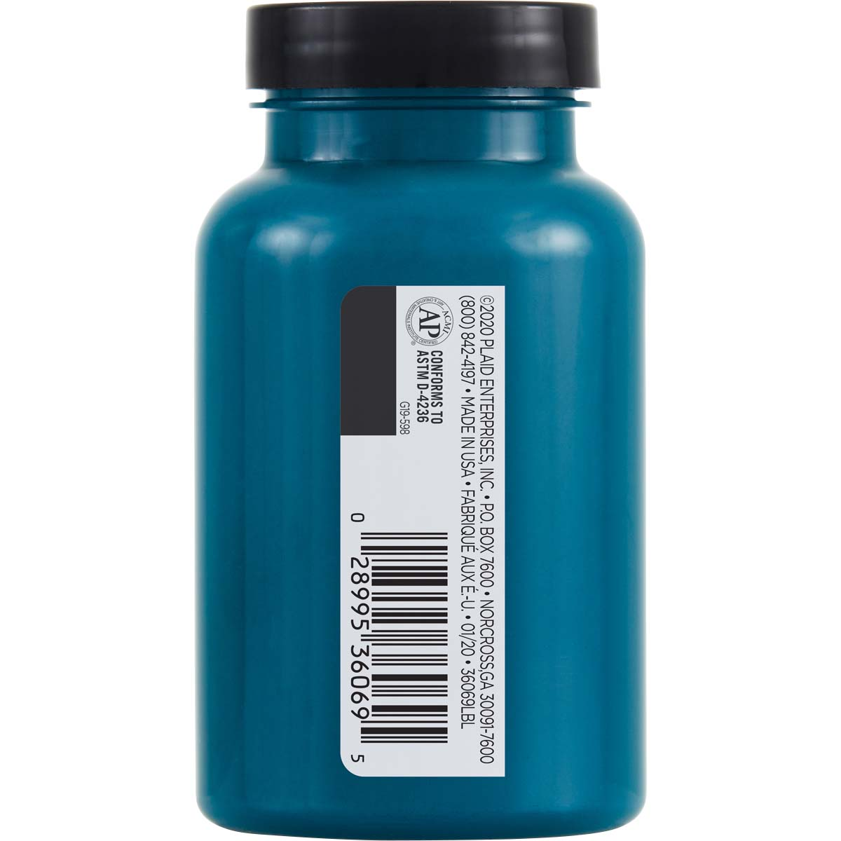 FolkArt ® One Décor Paint™ - Deep Atlantic Blue, 8 oz. - 36069