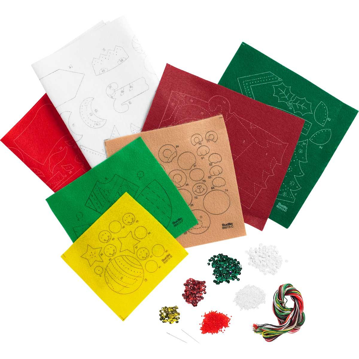 Bucilla ® Seasonal - Felt - Stocking Kits - Holiday Teddy