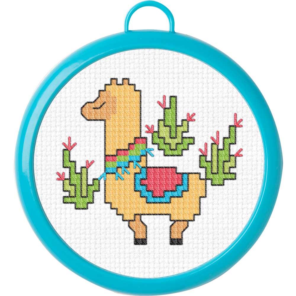 Bucilla ® My 1st Stitch™ - Counted Cross Stitch Kits - Mini - Llama - 49176E