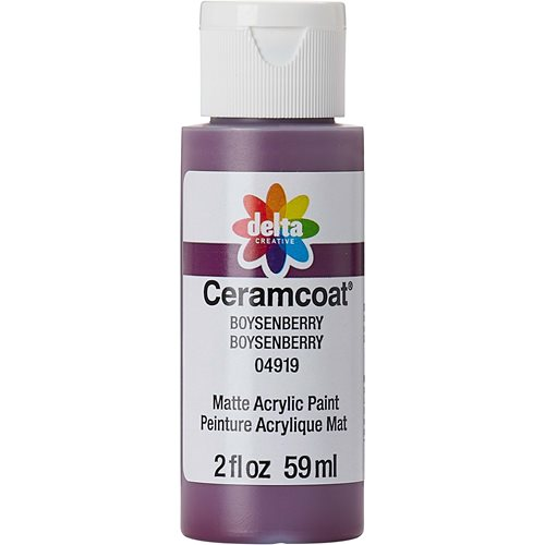 Delta Ceramcoat ® Acrylic Paint - Boysenberry, 2 oz. - 04919