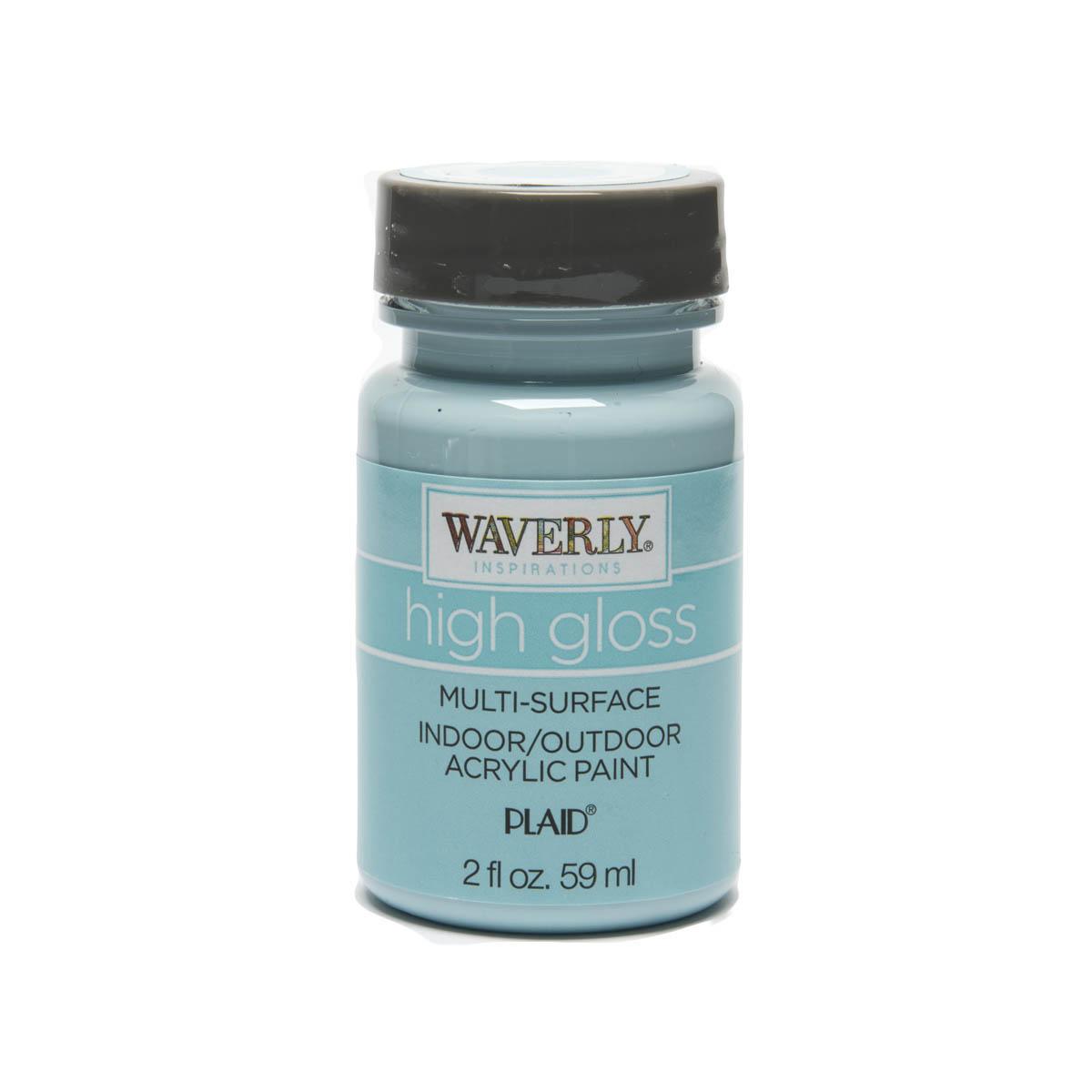 Waverly ® Inspirations High Gloss Multi-Surface Acrylic Paint - Pool, 2 oz. - 60934E