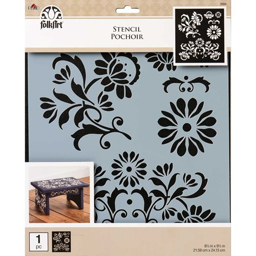 FolkArt ® Painting Stencils - Large - Arts & Crafts Décor - 39264