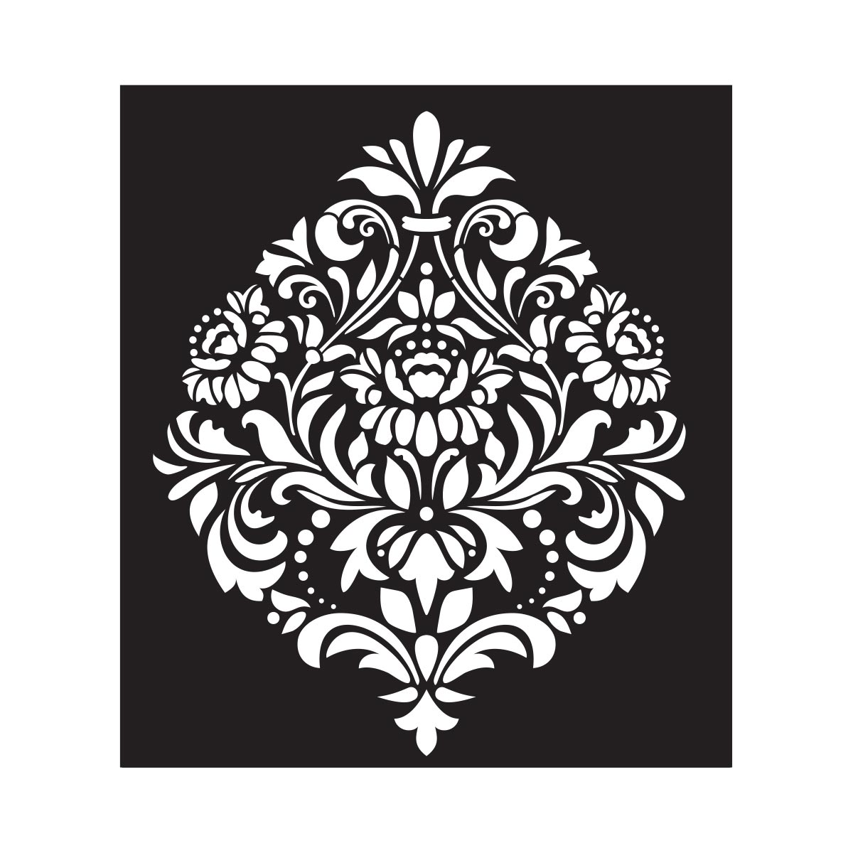 FolkArt ® Painting Stencils - Large - Damask 2
