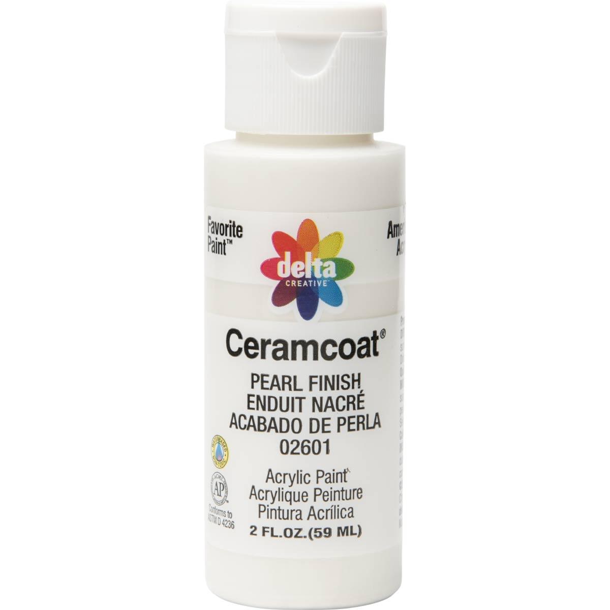 Delta Ceramcoat ® Acrylic Paint - Pearl Finish, 2 oz. - 026010202W