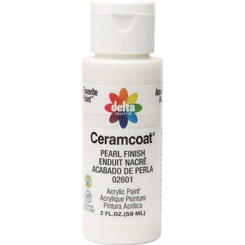 Delta Ceramcoat ® Acrylic Paint - Pearl Finish, 2 oz. - 026010202W