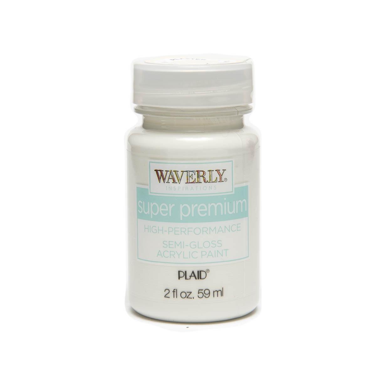 Waverly ® Inspirations Super Premium Semi-Gloss Acrylic Paint - Plaster, 2 oz.