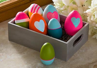 Neon Easter Eggs