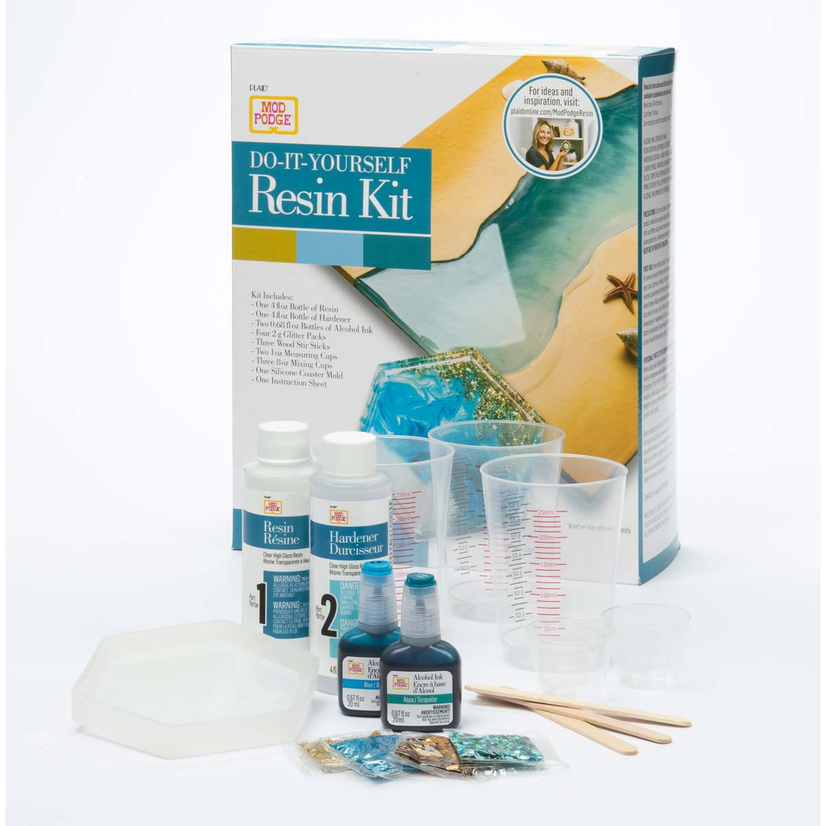 Mod Podge ® Do-It-Yourself Resin Kit - River - 25295E