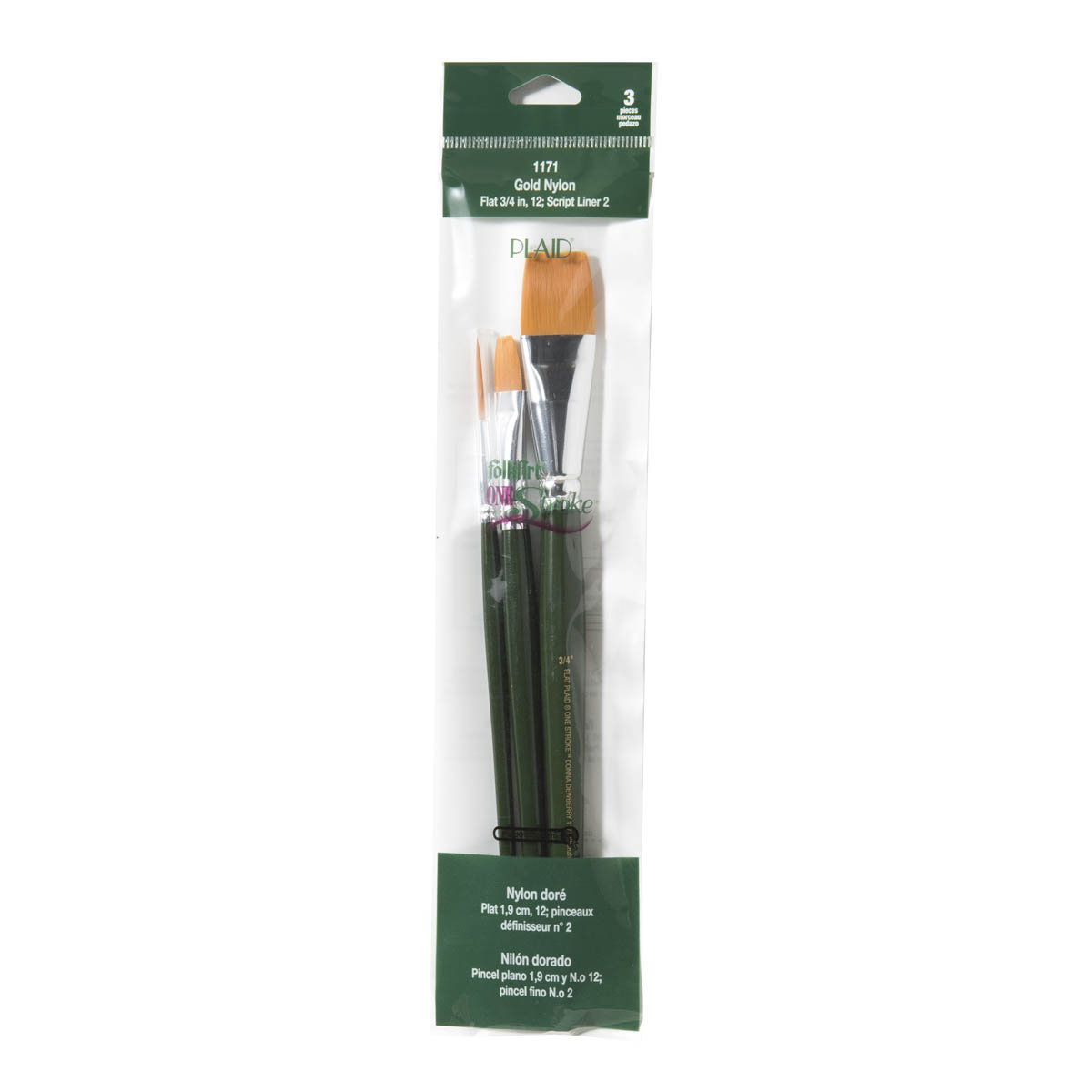 FolkArt ® One Stroke™ Brushes - Brush Sets - Basic - 1171