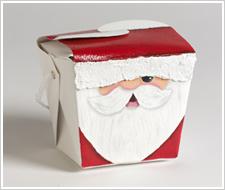 Santa Chinese Gift Box