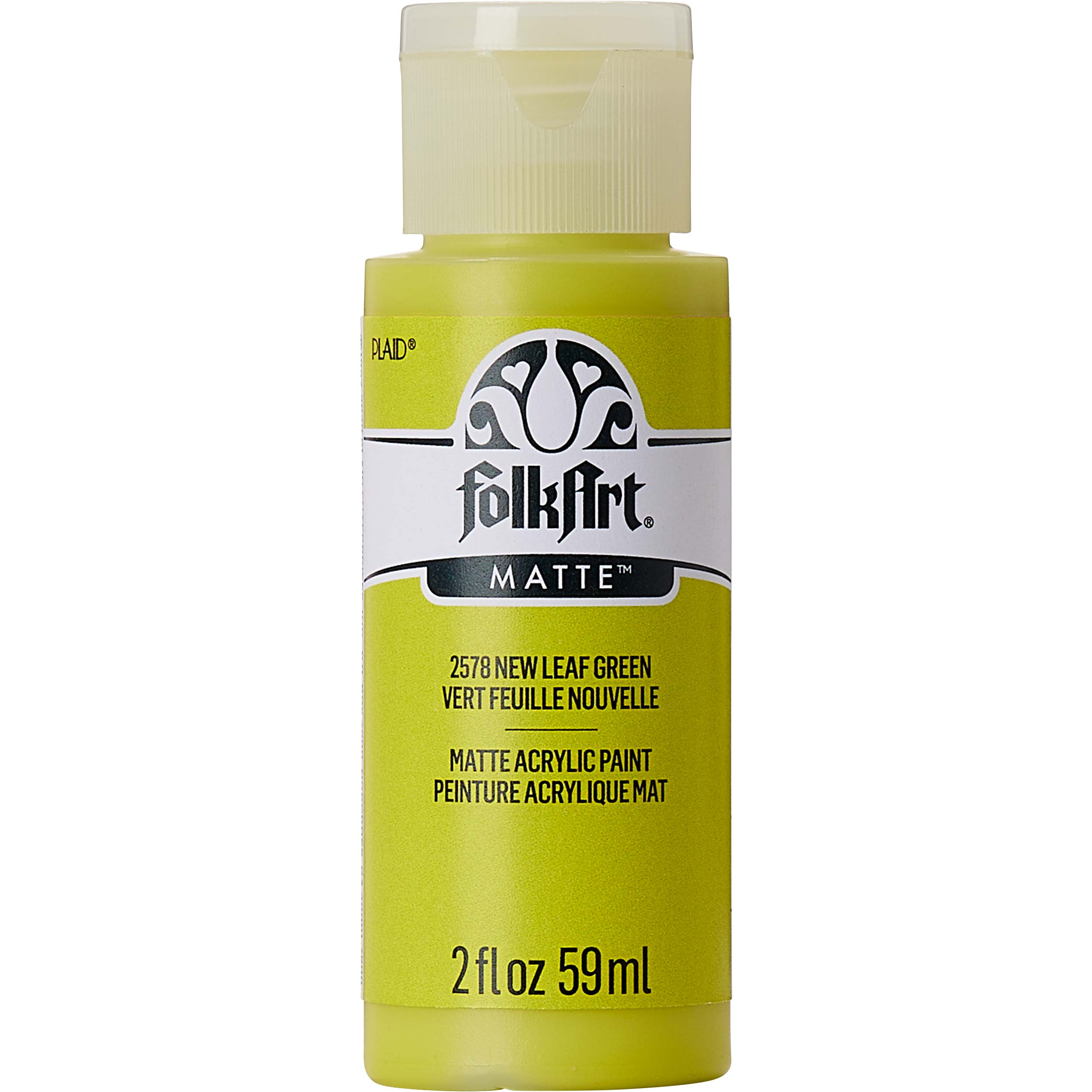 FolkArt ® Acrylic Colors - New Leaf Green, 2 oz. - 2578