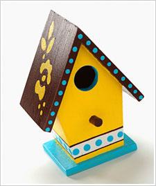 Shiny Birdhouses