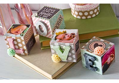 Baby Photo Blocks