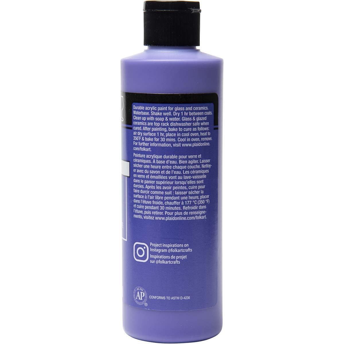 FolkArt ® Enamels™ - Perfect Purple, 8 oz. - 7157