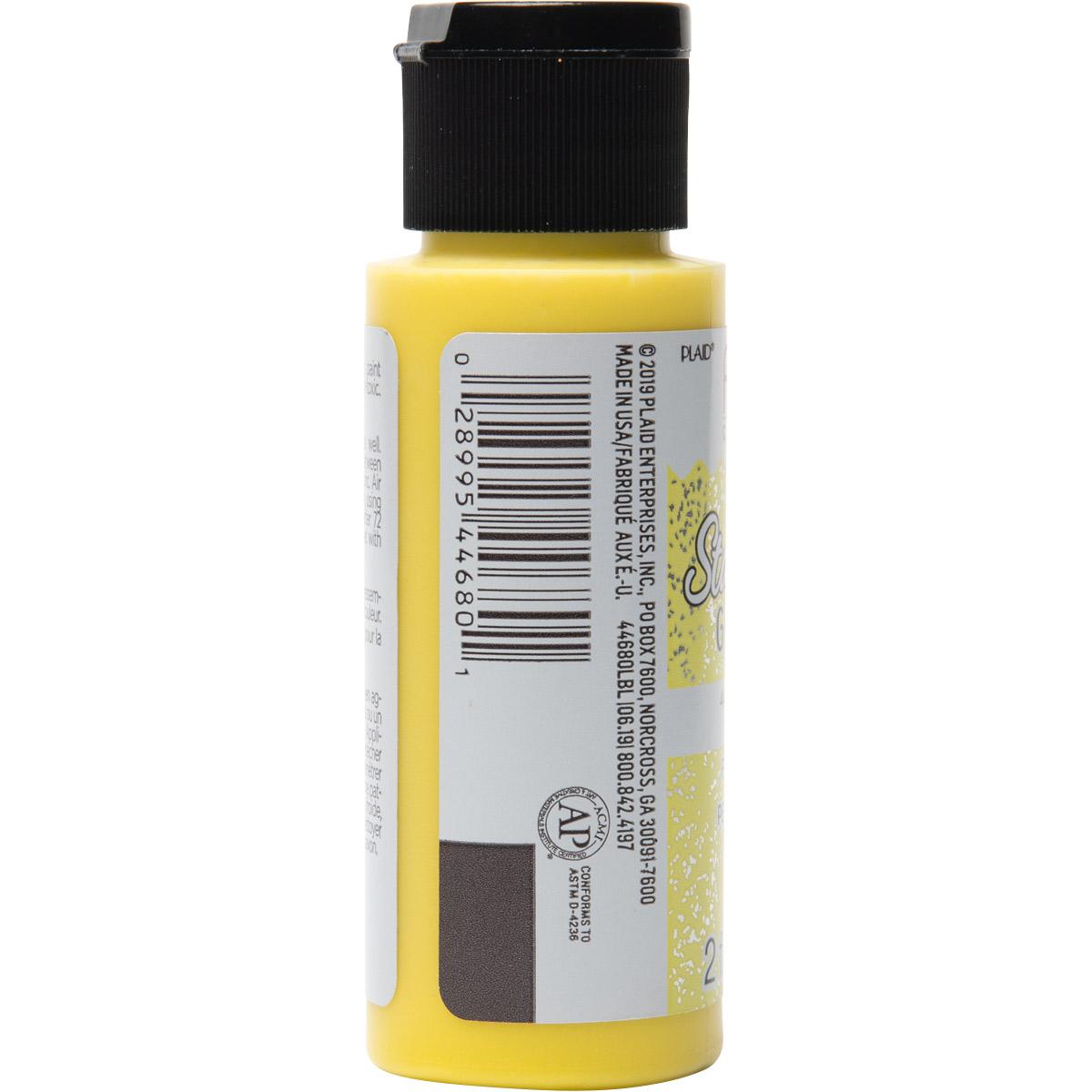 Fabric Creations™ StarStruck Glitter™ Fabric Paint - Lemon Ice, 2 oz.