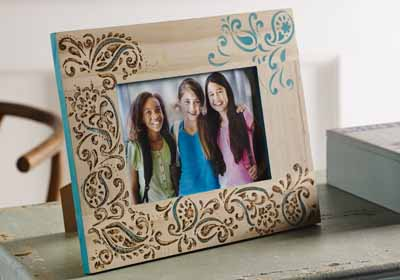 Paisley Delight Stencil Frame