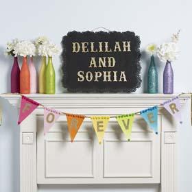 Adoption Celebration Idea -  Forever Banner