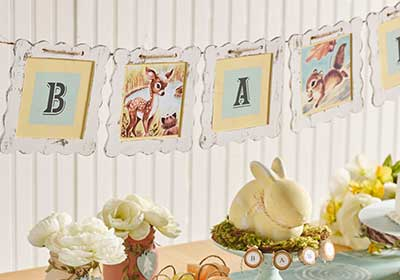 DIY Baby Shower Banner