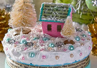 Winter Wonderland Cookie Tin