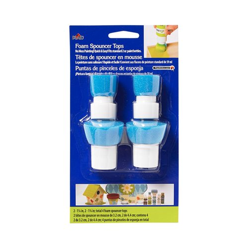 Folkart ® Paint Tools - Bottle Top - Foam Spouncer ®