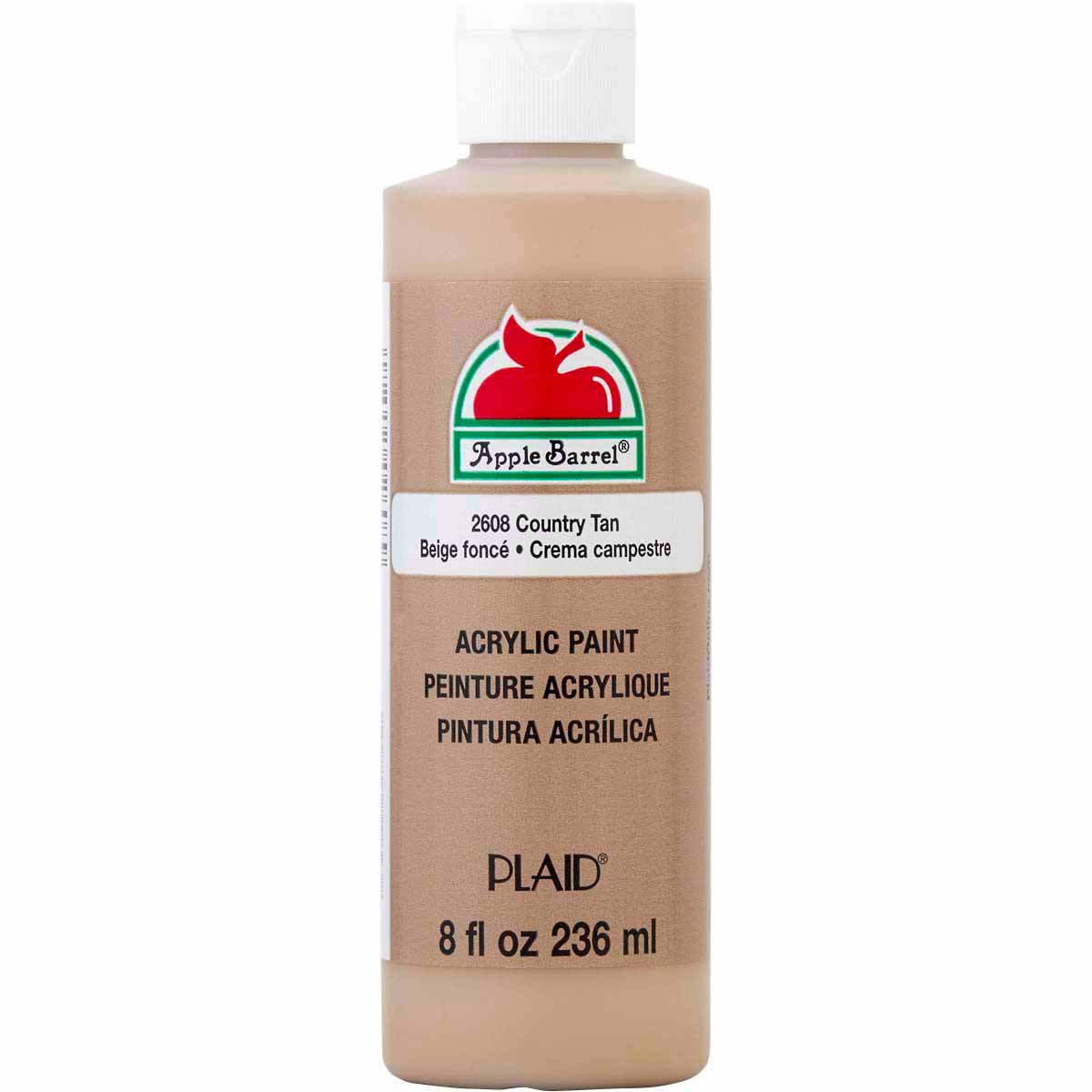 Apple Barrel ® Colors - Country Tan, 8 oz. - K2608