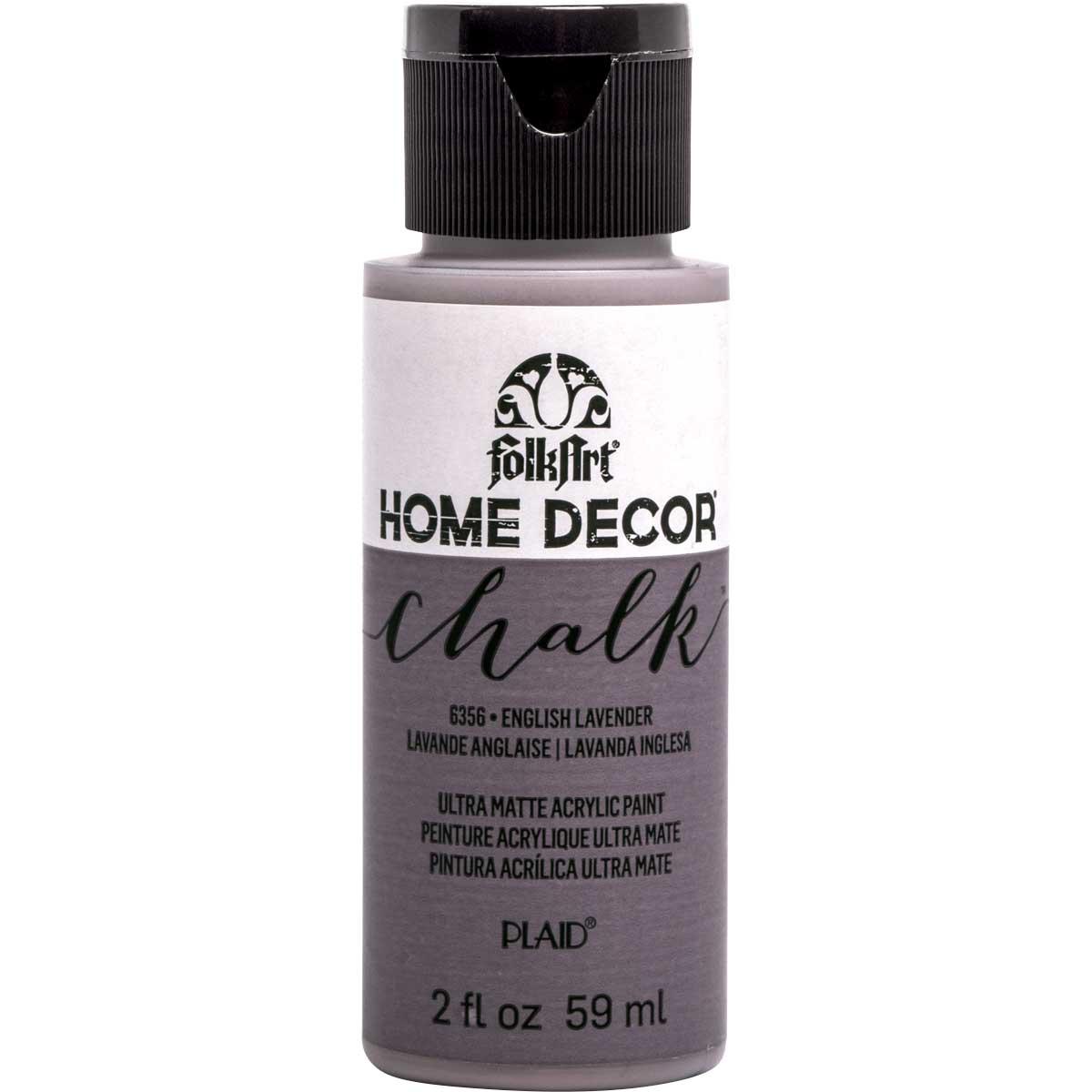 FolkArt ® Home Decor™ Chalk - English Lavender, 2 oz.