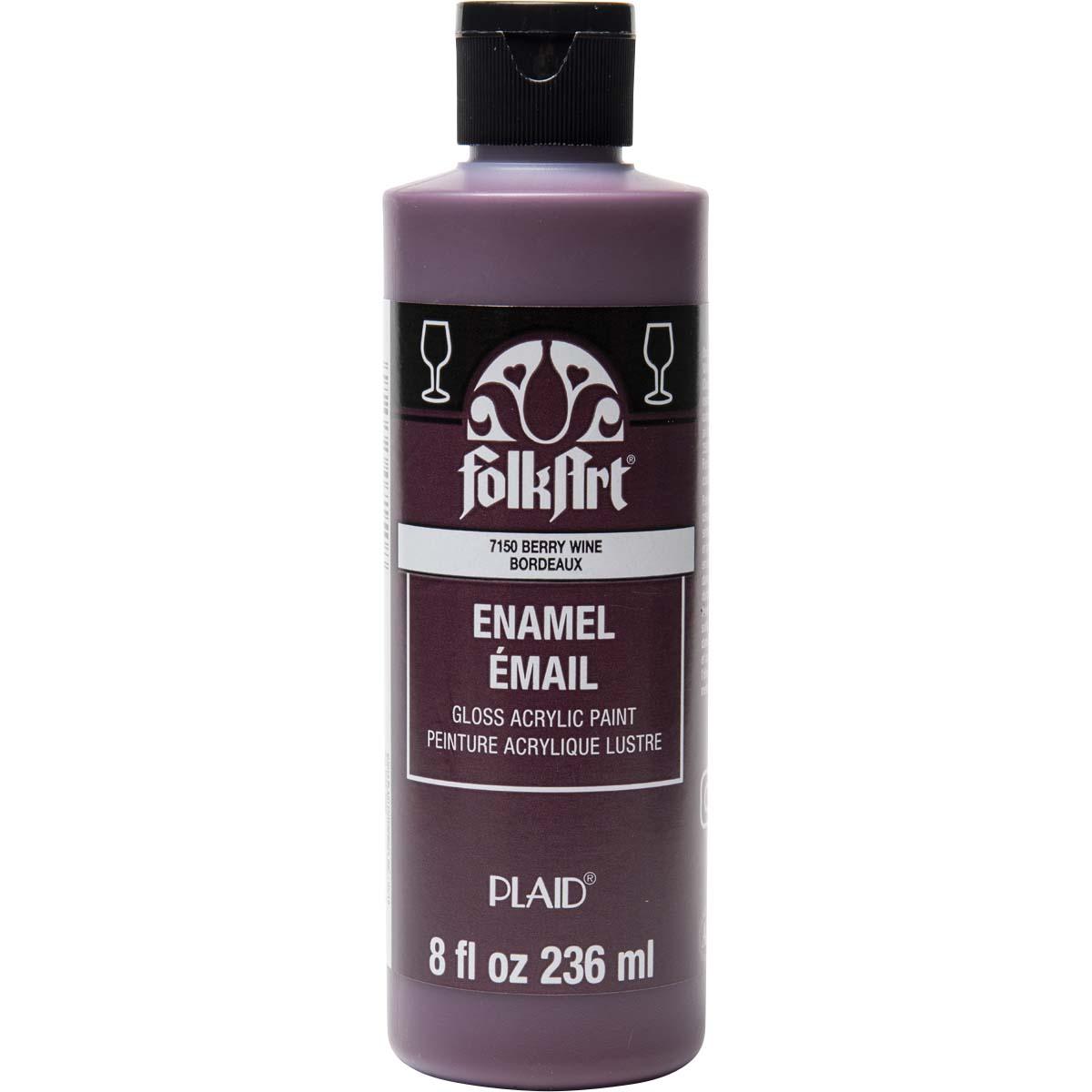 FolkArt ® Enamels™ - Berry Wine, 8 oz.