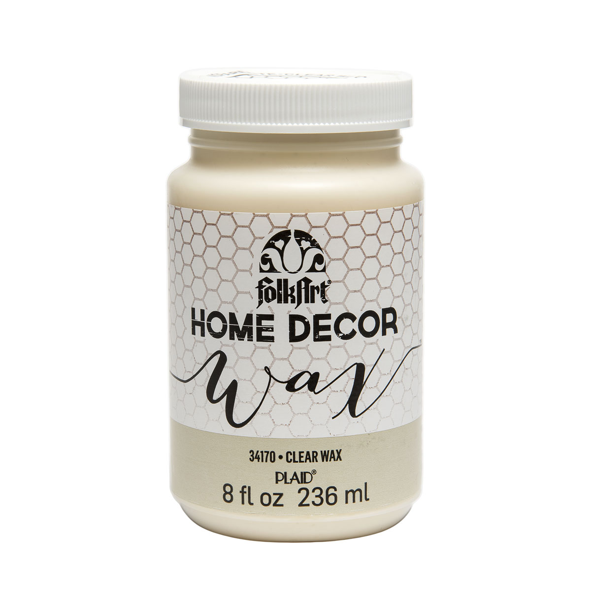 FolkArt ® Home Decor™ Wax - Clear, 8 oz. - 34170