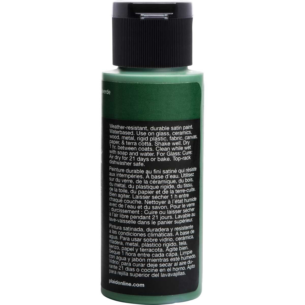 Delta Ceramcoat ® Select Multi-Surface Acrylic Paint - Satin - Evergreen, 2 oz.