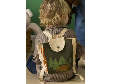 Handmade Charlotte™ Woodland Backpack