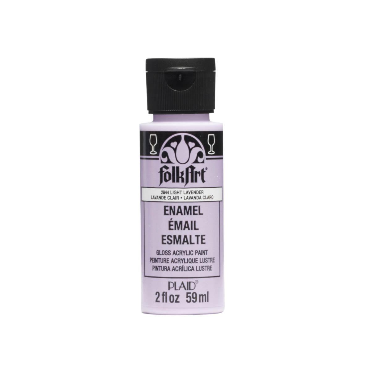 FolkArt ® Enamels™ - Light Lavender, 2 oz. - 2844