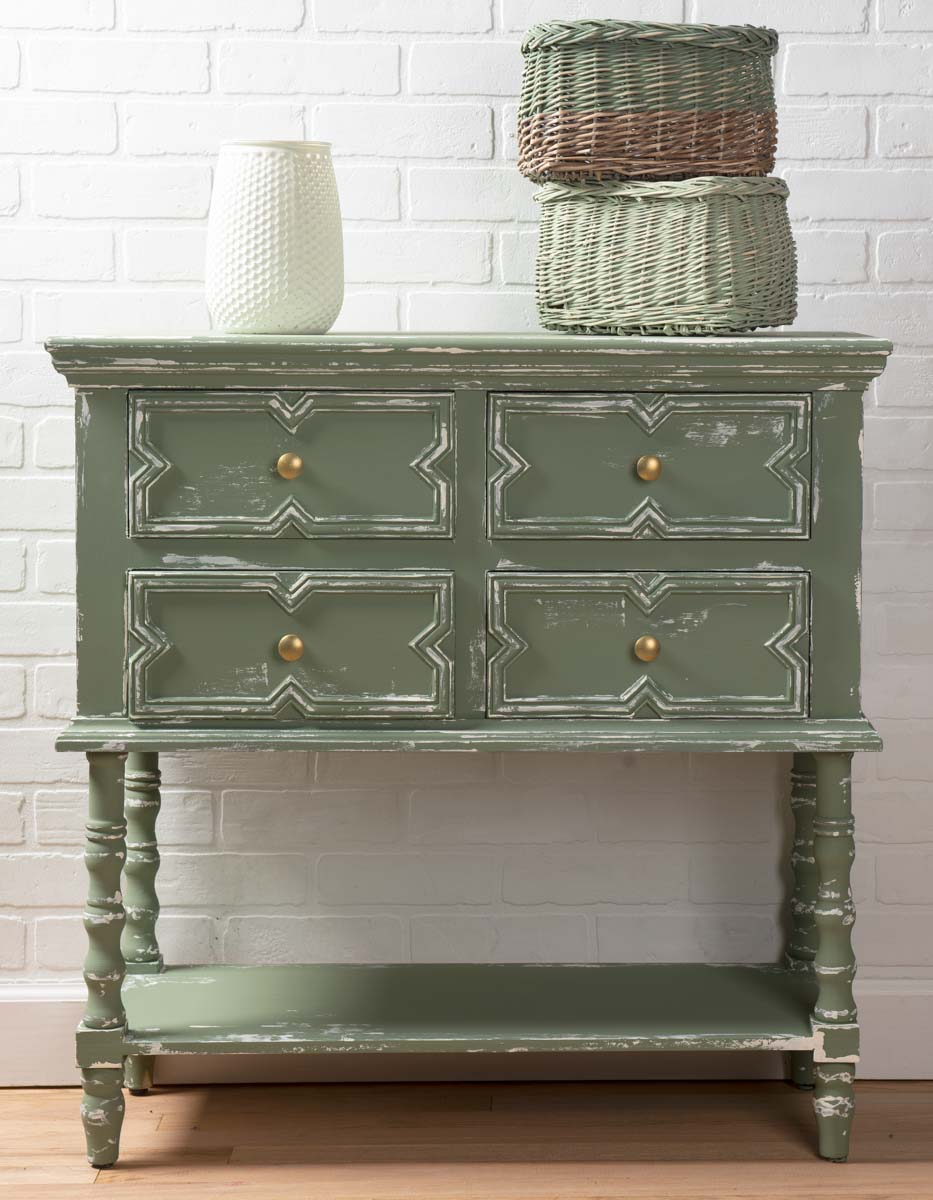 Green Dresser Redo