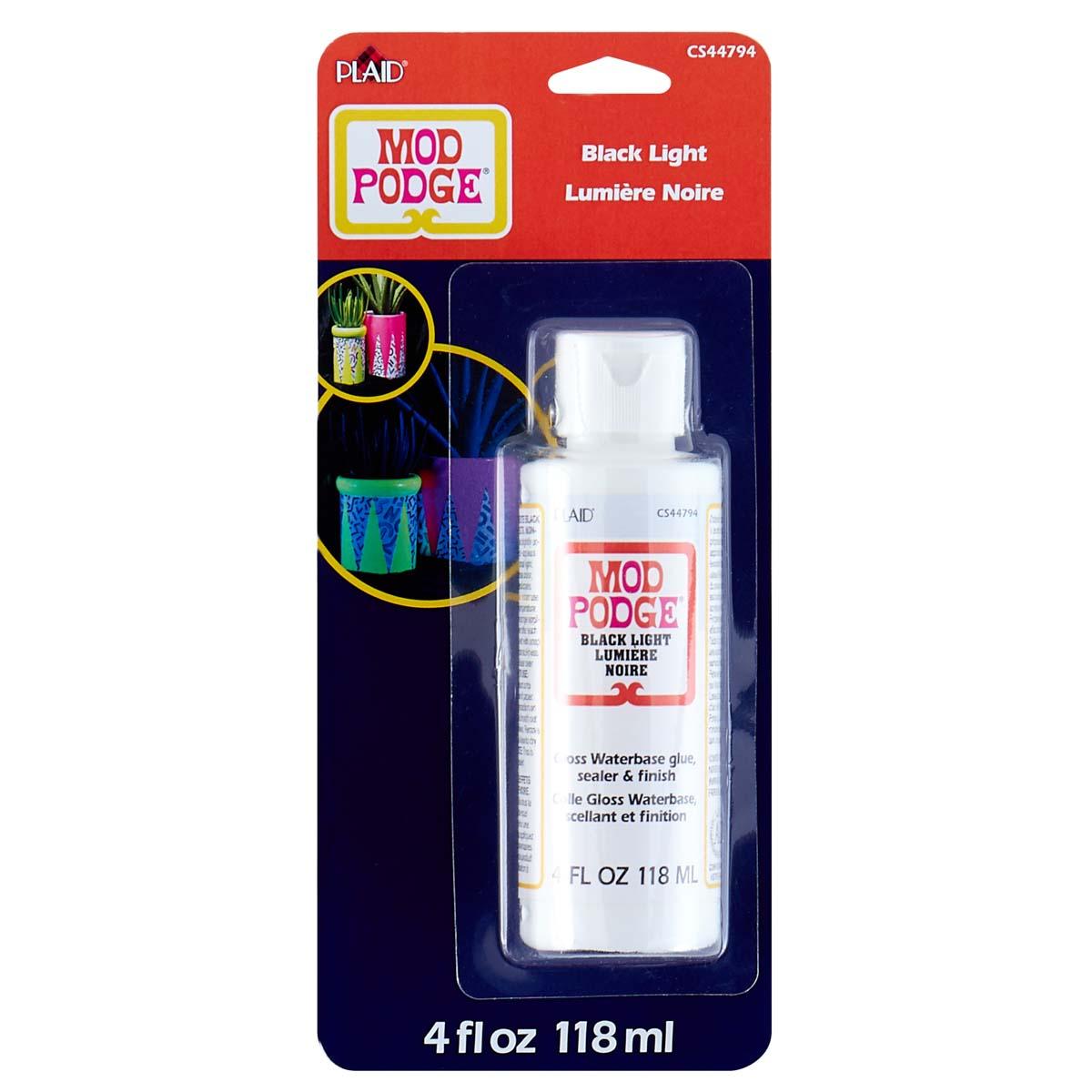 Mod Podge Blacklight Blue, 4 oz. - CS44794