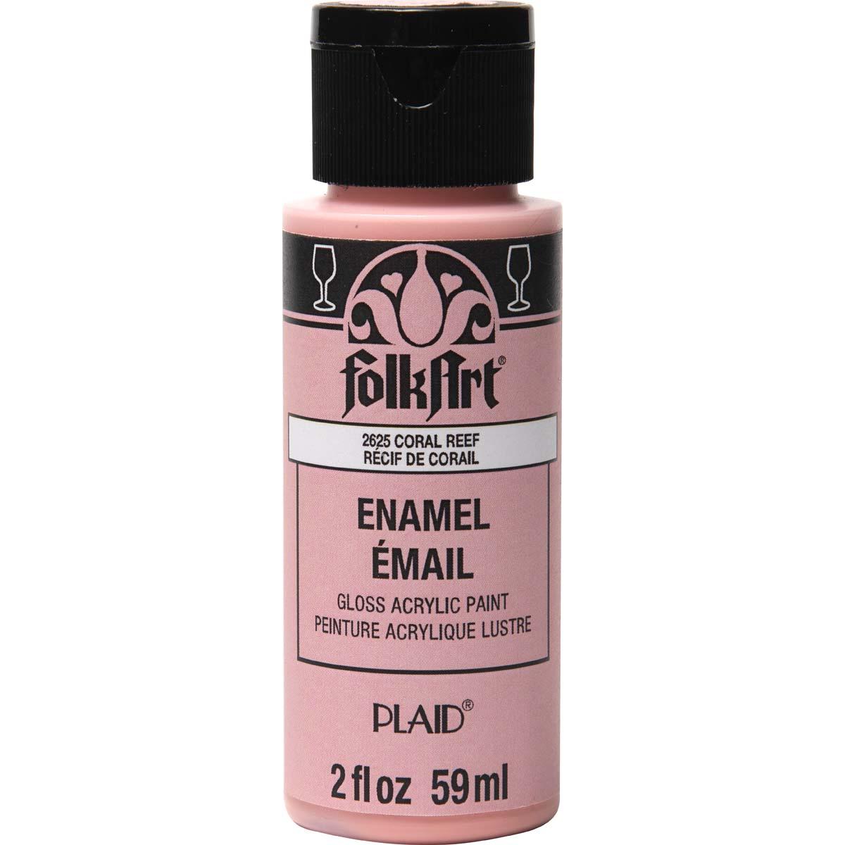FolkArt ® Enamels™ - Coral Reef, 2 oz. - 2625