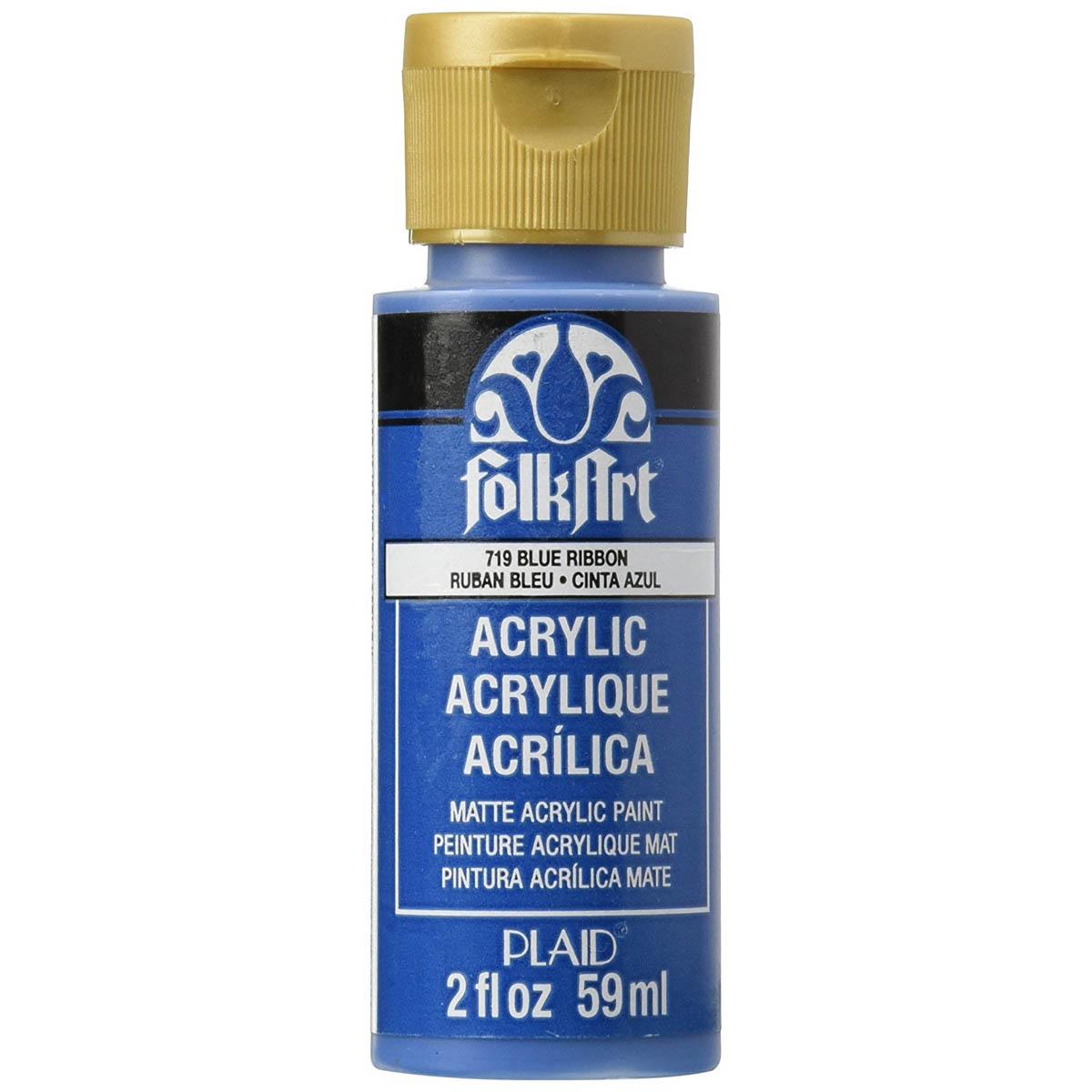 FolkArt ® Acrylic Colors - Blue Ribbon, 2 oz. - 719