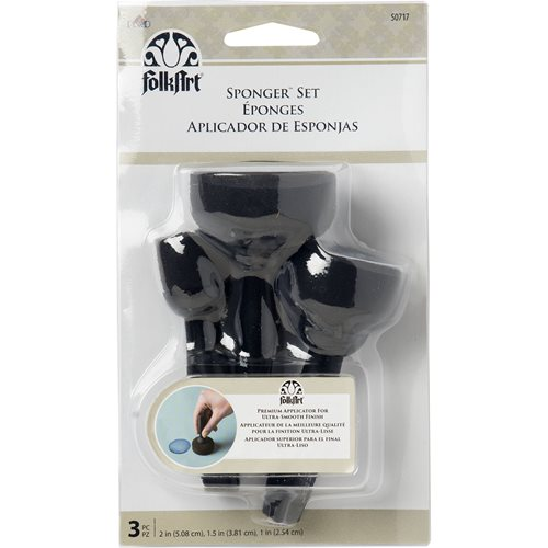 FolkArt ® Painting Tools - Sponger™ Set 3 pc. - 50717