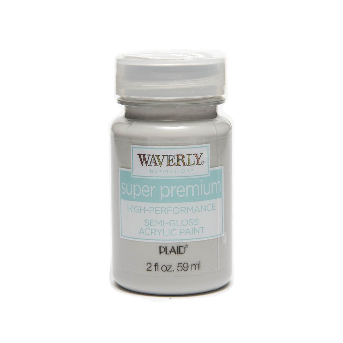 Waverly ® Inspirations Super Premium Semi-Gloss Acrylic Paint - Silver Lining, 2 oz. - 60657E