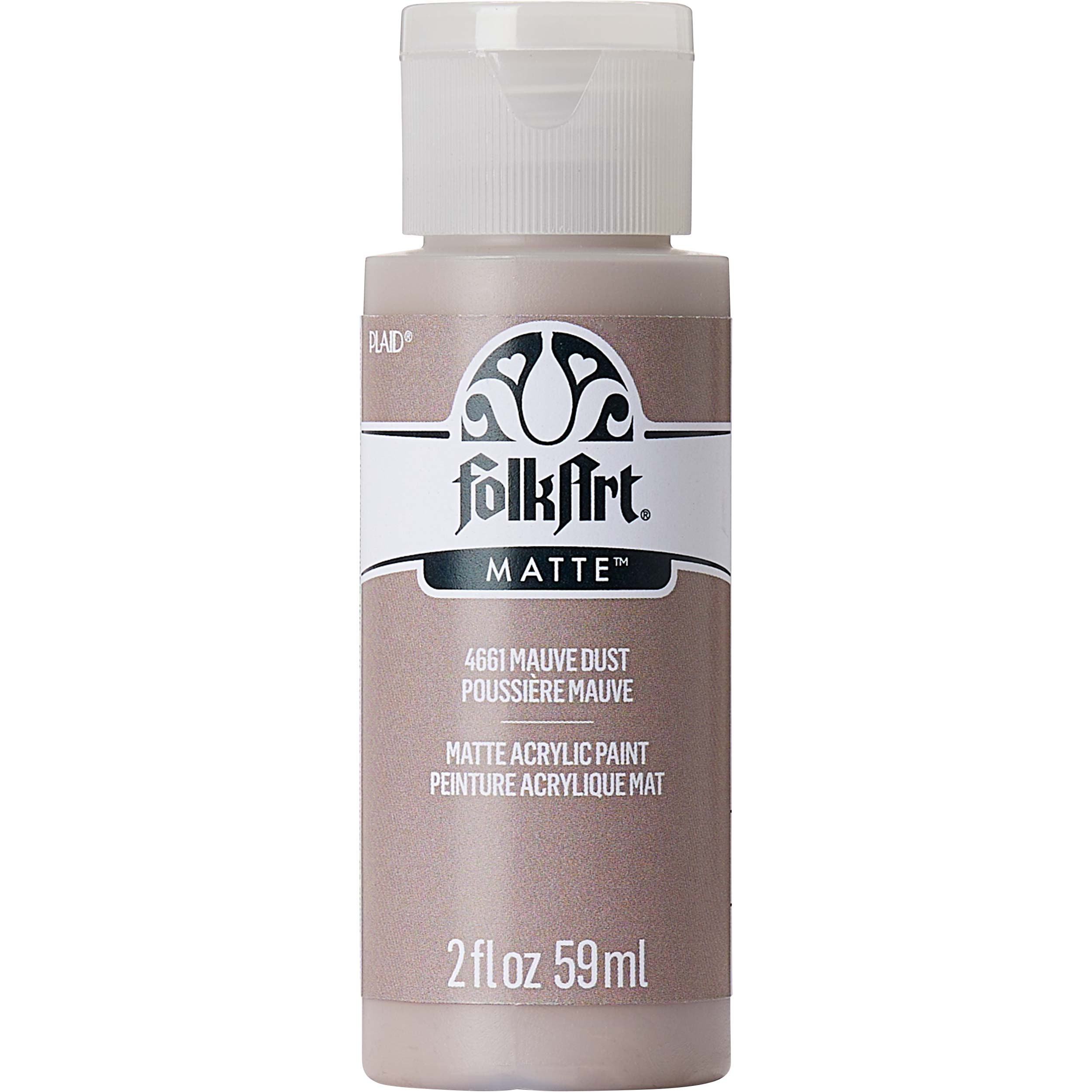FolkArt ® Acrylic Colors - Mauve Dust, 2 oz.