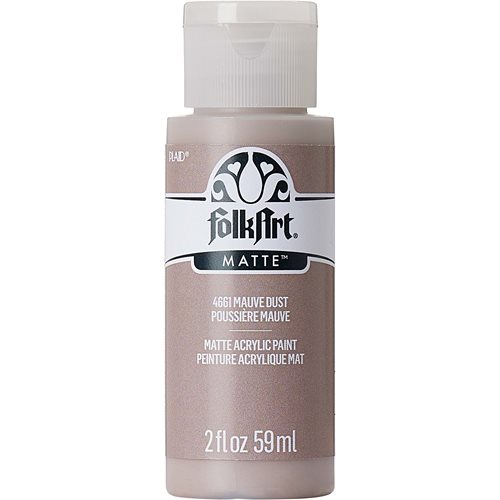 FolkArt ® Acrylic Colors - Mauve Dust, 2 oz. - 4661