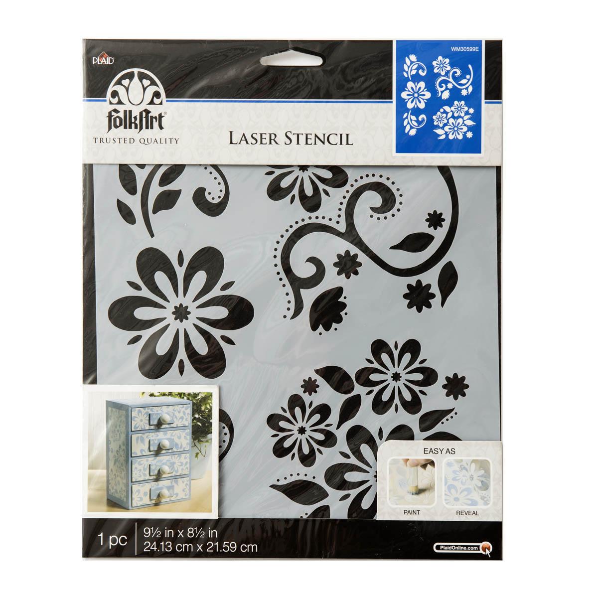 Free UK P/&P 6 x 6-8 x 8-12 x 12 *NEW* Art Deco Lady Quality 190m Mylar Stencil
