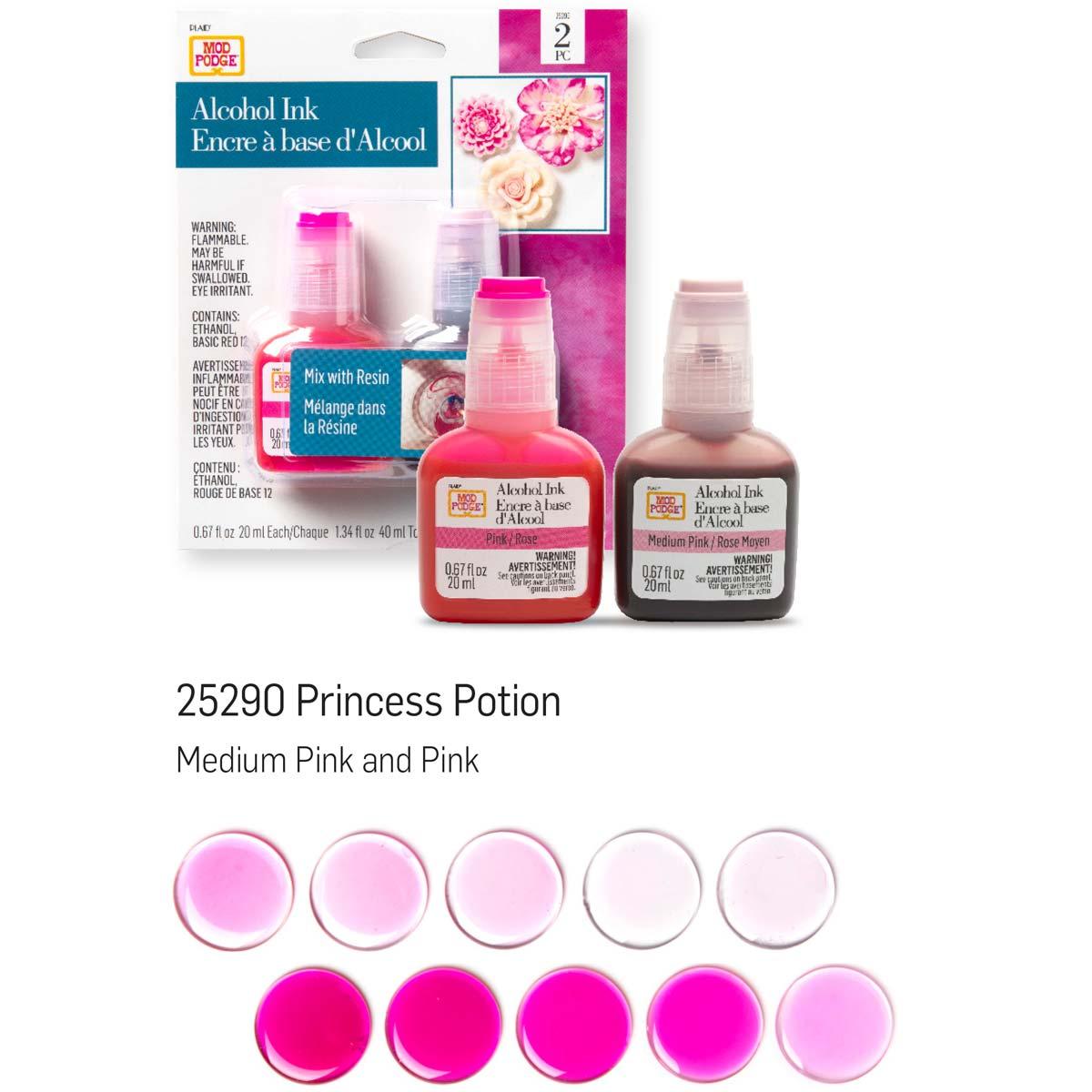 Mod Podge ® Alcohol Ink Set - Princess, 2 pc. - 25290
