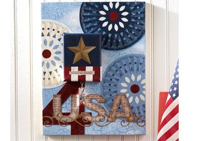 America the Beautiful Canvas