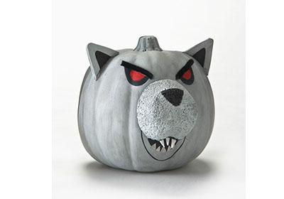 Werewolf Pumpkin with FolkArt Acrylics