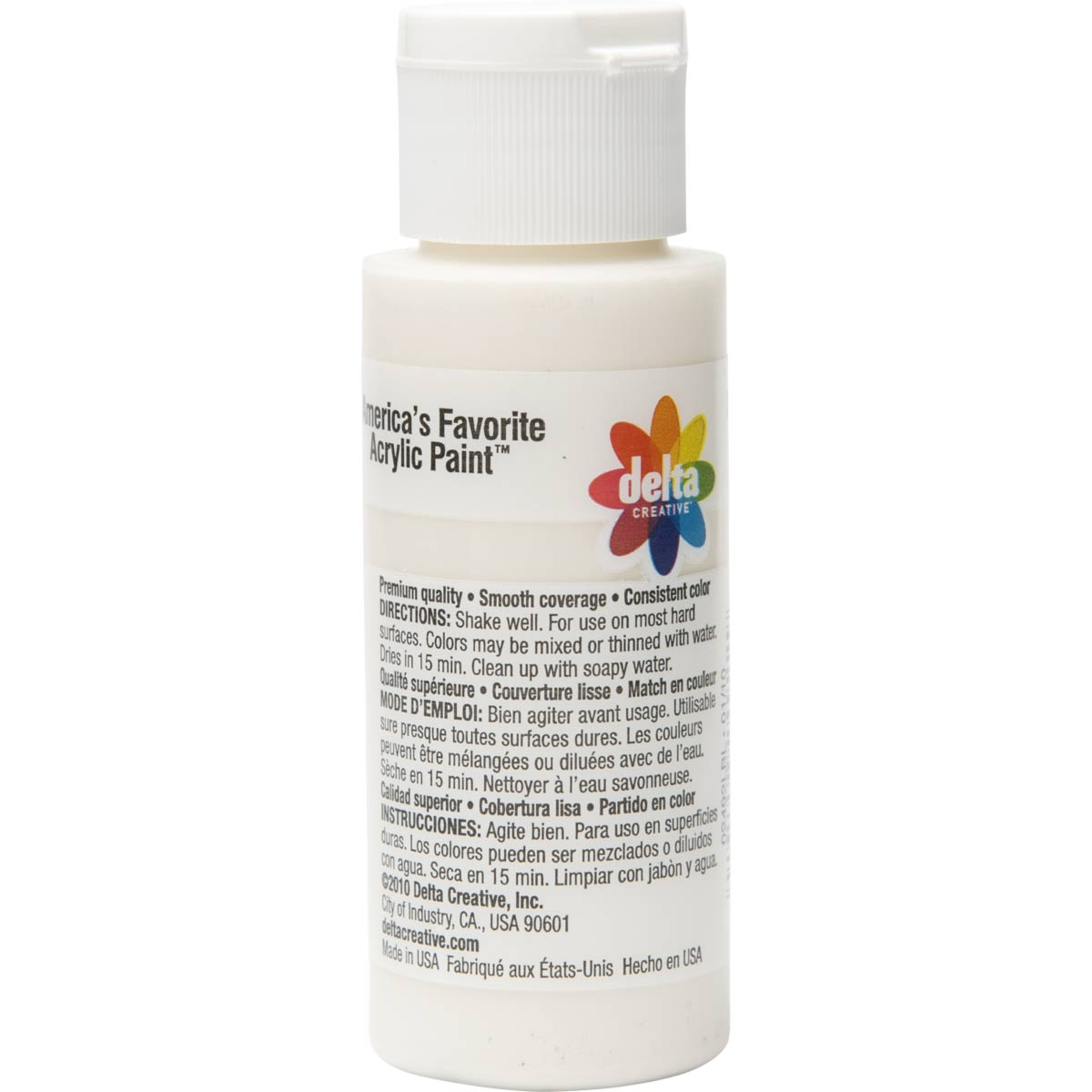 Delta Ceramcoat ® Acrylic Paint - Oyster White, 2 oz.