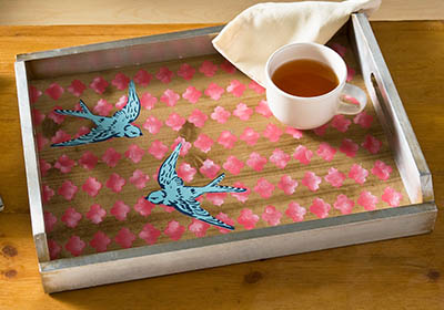 Spring Swallow Tray