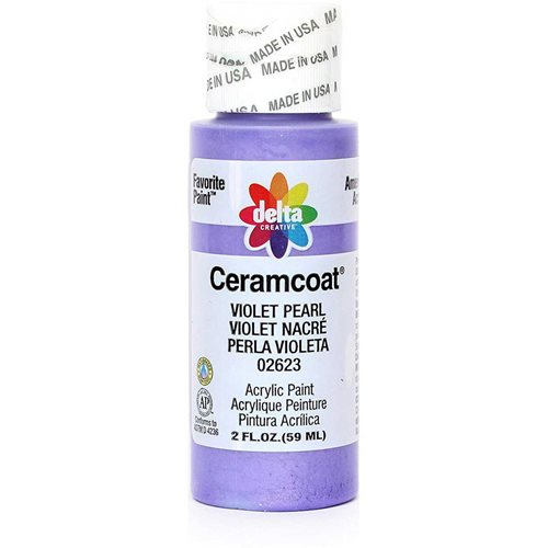 Delta Ceramcoat ® Acrylic Paint - Violet Pearl, 2 oz.