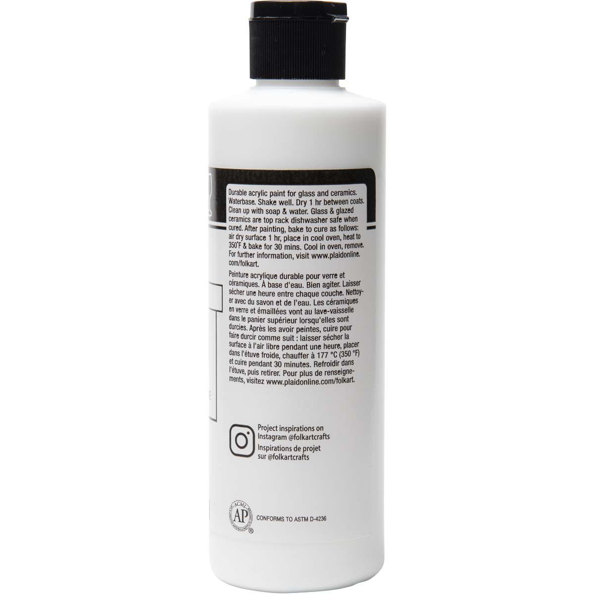 FolkArt ® Enamels™ - Titanium White, 8 oz. - 7149