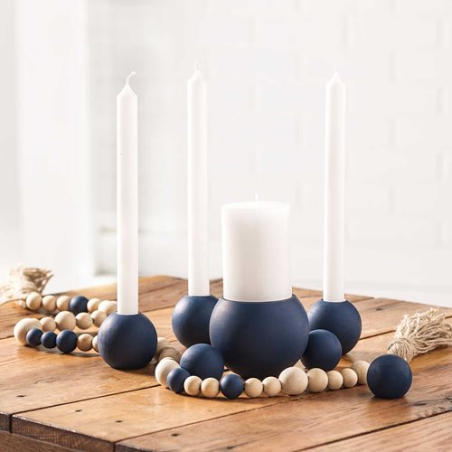 DIY Painted Candleholders & Centerpiece Idea