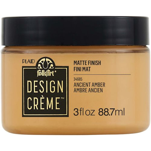 FolkArt ® Design Creme™ - Ancient Amber, 3 oz. - 34685