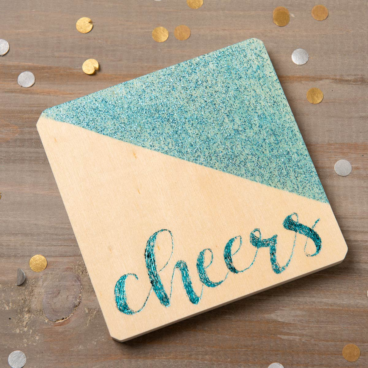 Hot Foil Pen Coasters